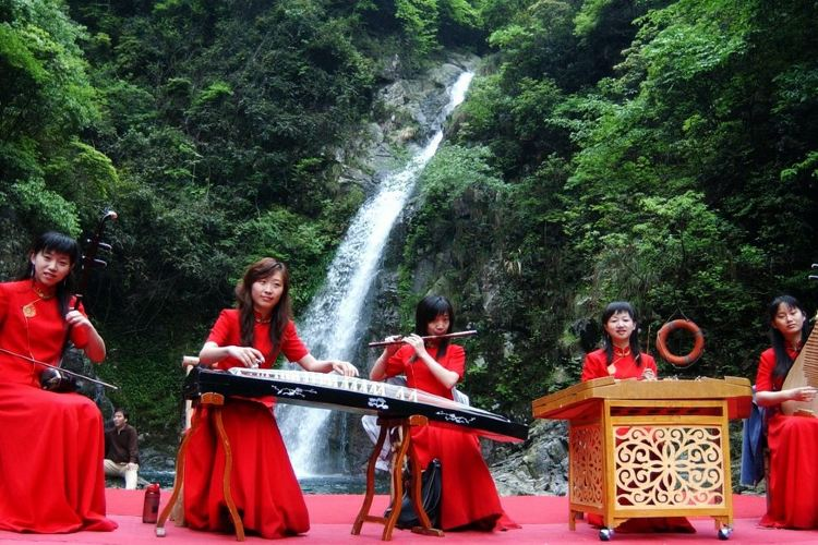 Ningbo Wulongtan Scenic Spot2