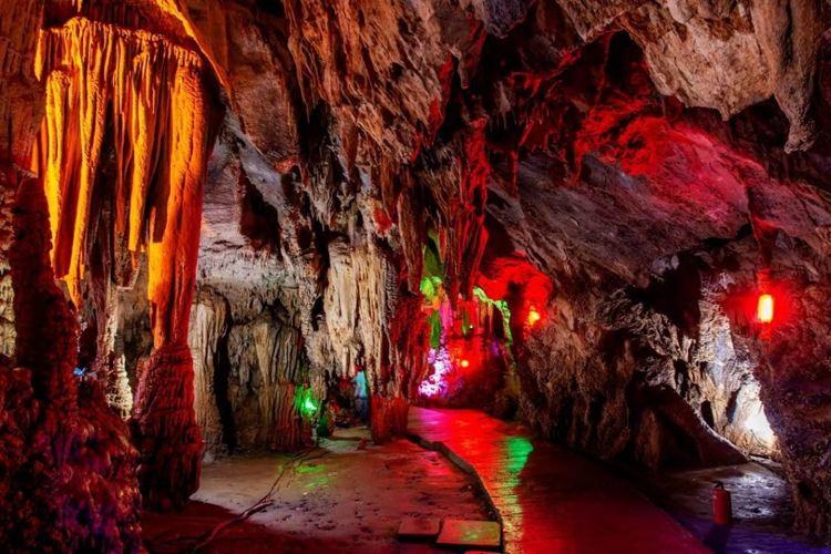 선농자선룽 동굴