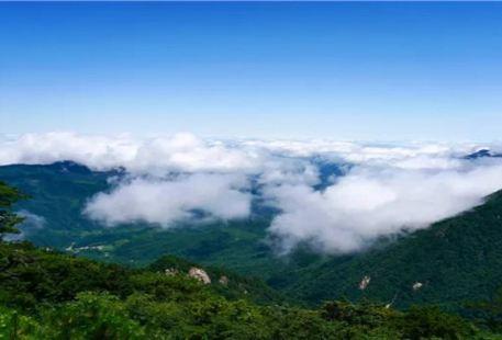 Baimajian in the Main Scenic Area of Dabie Mountain