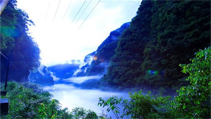 Hupingshan Mountain in Shimen County