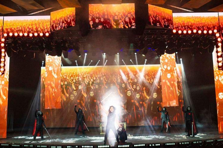 太陽劇團《天使克利斯的信念》秀2