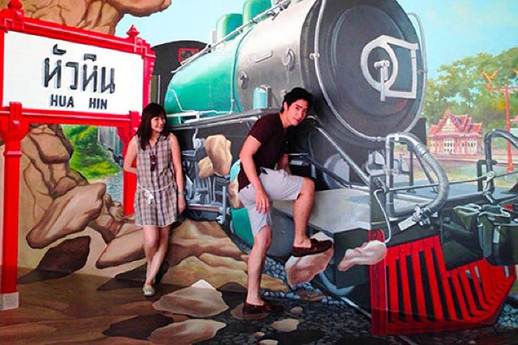 華欣4D美術館2
