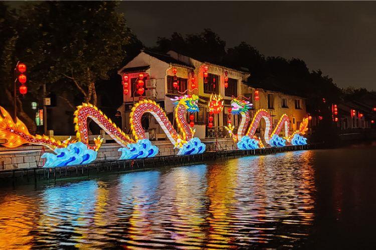 江南古運河遊船(南禪寺碼頭)4