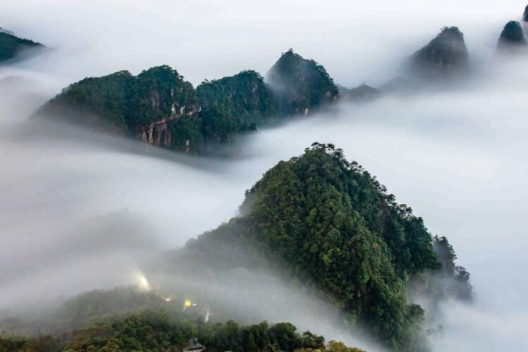 Mangshan· Wuzhifeng Sceneic Area