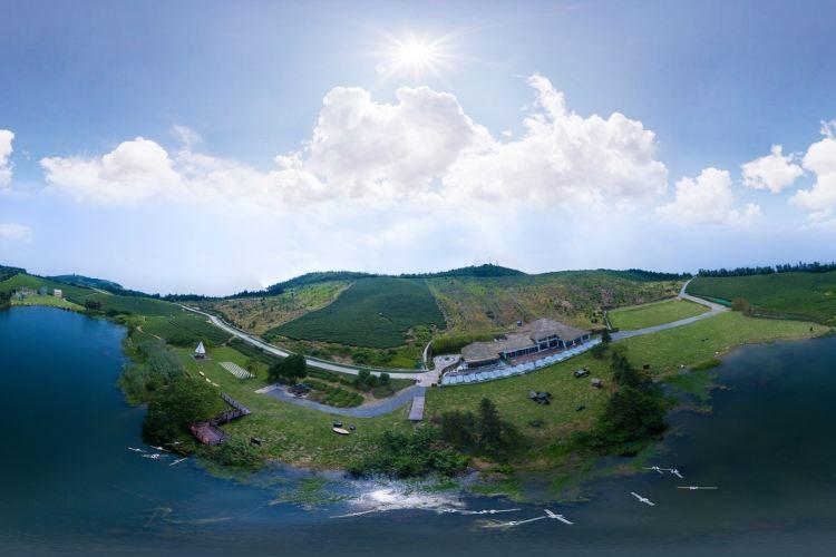 둥첸호 푸취안산 관광지1