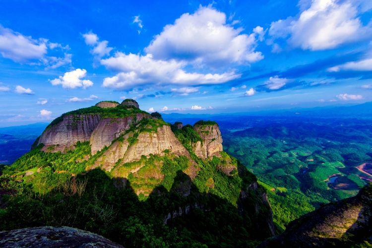 Doujiao Mountain Scenic Area (Qingshou Cliff)3