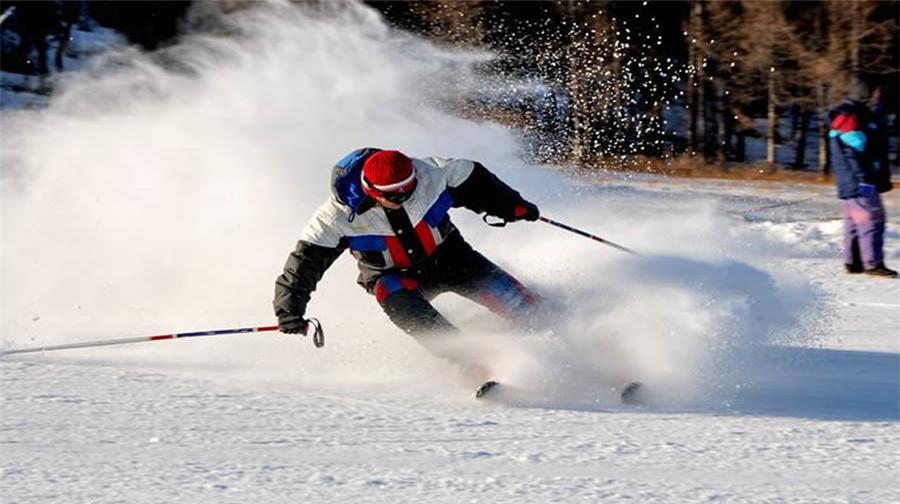 Reclining Buddha Mountain Ski Run
