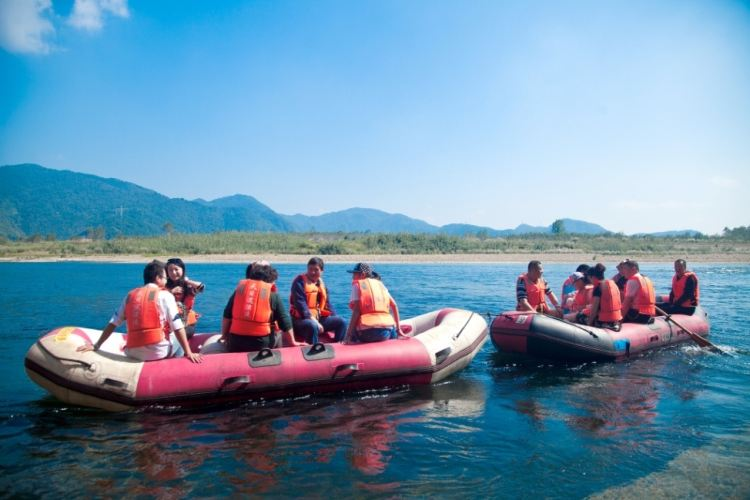 Tianmu River Drifting2