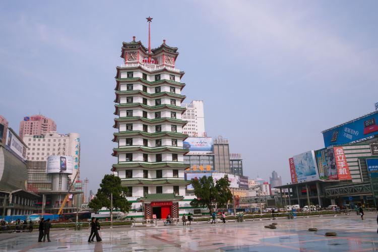 Erqi Strike Monument Tower1