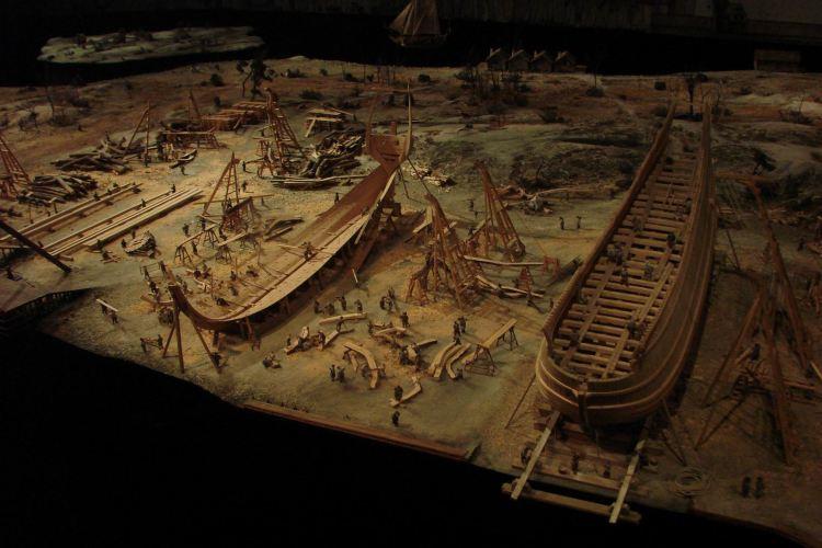 瓦薩沉船博物館1