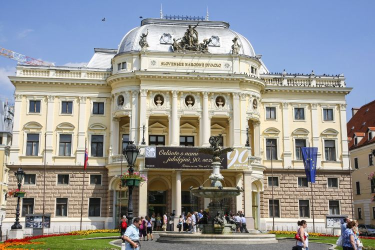 Historical building of the Slovak National Theatre1
