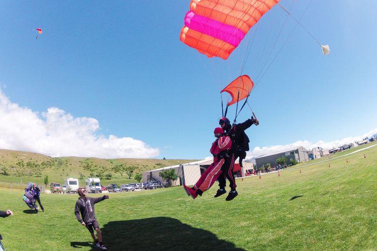 Queenstown NZONE Skydive2