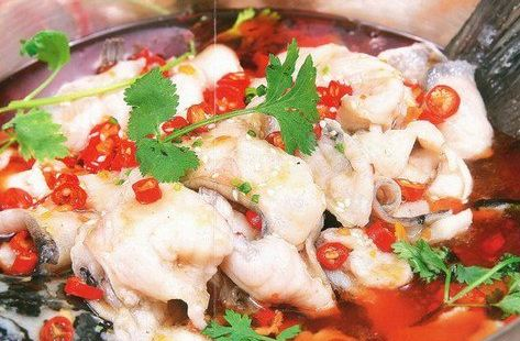 重慶紅辣椒片片魚