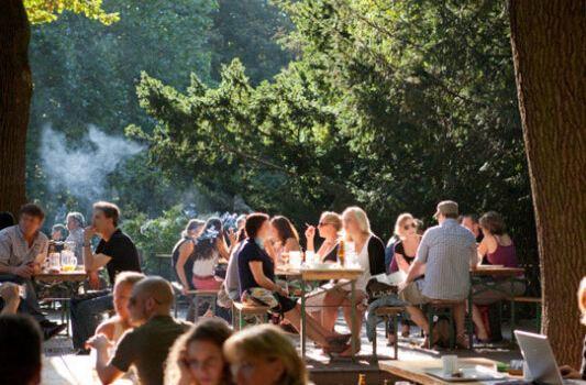 Cafe am Neuen See, Biergarten