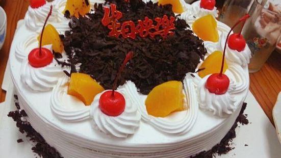 張平生日蛋糕