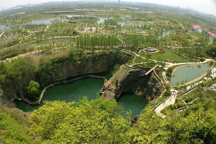 상하이 천산 식물원(상해 진산식물원)1
