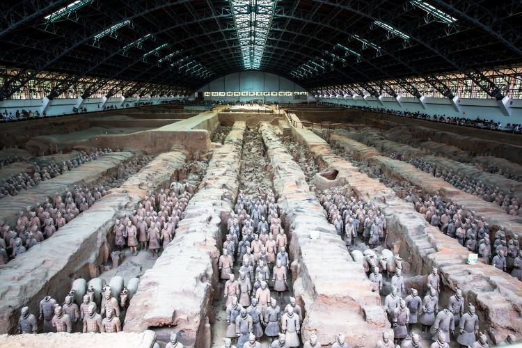 秦始皇兵馬俑博物館2