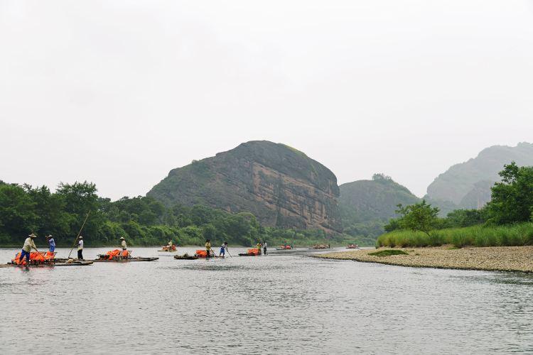 仙水岩蘆溪河竹筏漂流3