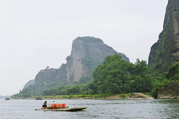 仙水岩蘆溪河竹筏漂流4