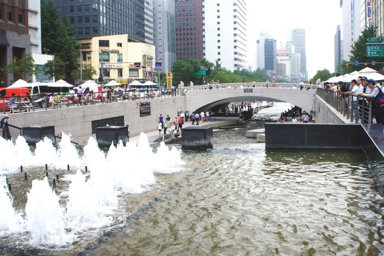 清渓川(チョンゲチョン)4