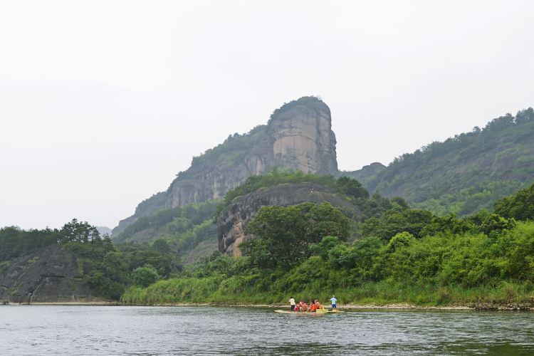 仙水岩蘆溪河竹筏漂流2