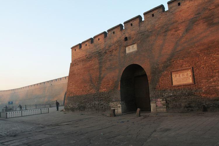 平遙古城牆2