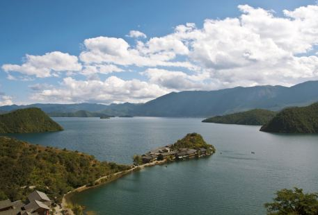 Lugu Lake Viewing Platform