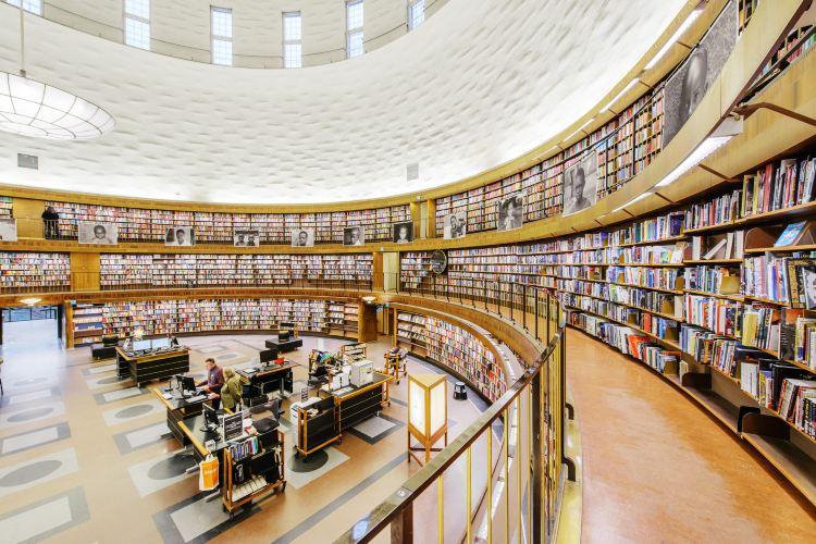 斯德哥爾摩公共圖書館1
