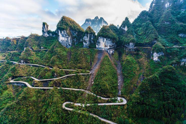 중국 텐먼산 통천대도2