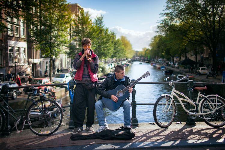 アムステルダム運河3