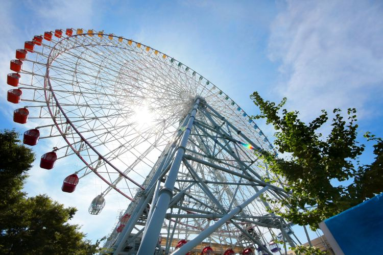 Tempozan Giant Ferris Wheel3