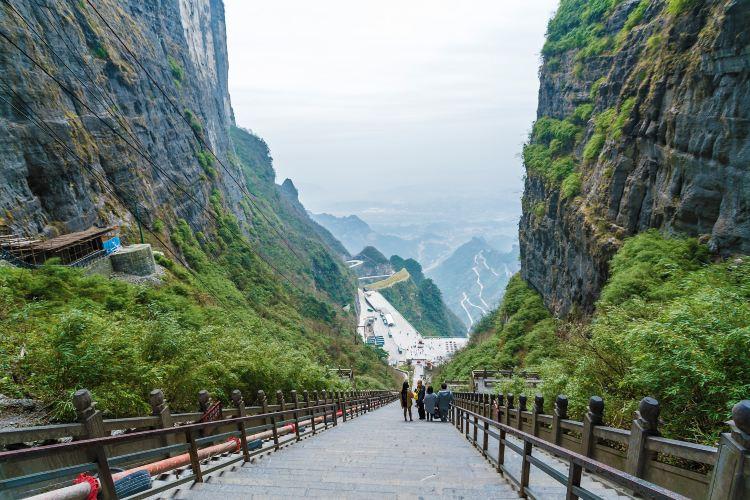Tianmen Cave2