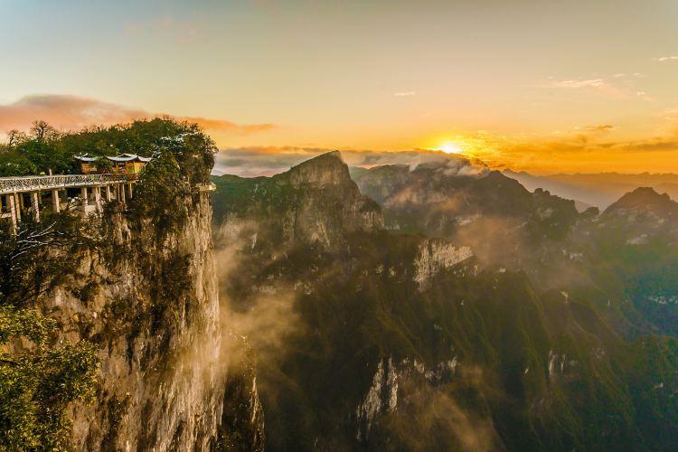 톈먼산 국가산림공원(천문산 국가삼림공원)1