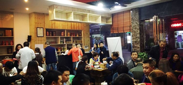 木子記紅色主題餐廳2