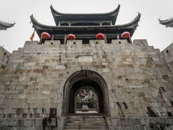 Three Gates of Qianzhou Ancient City