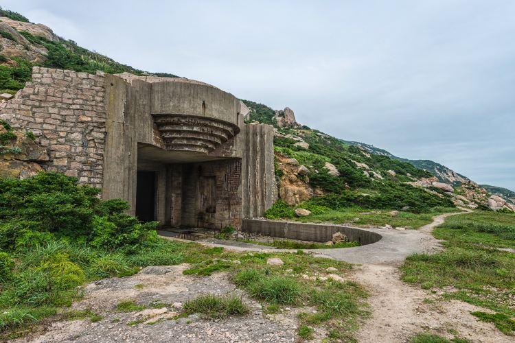 林彪保島山洞2