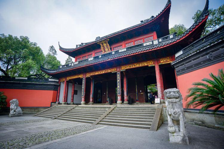 岳王廟景區