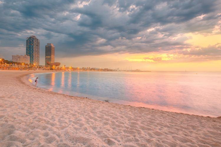 巴塞羅那塔海灘3