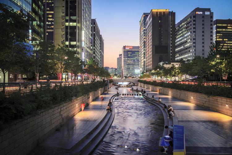 清渓川(チョンゲチョン)1