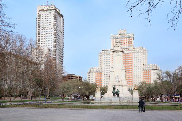 마드리드 에스파냐 광장1