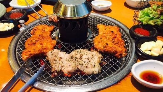 泉田炭火烤雞排