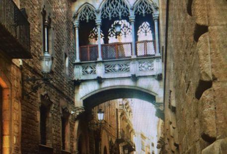 巴塞羅那老城區