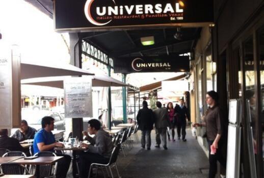 Universal Italian Restaurant & Function Value1