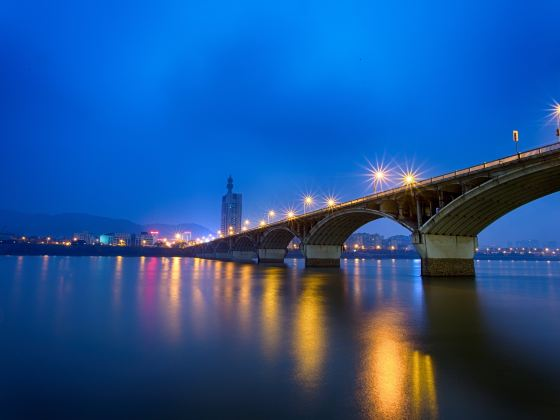 Ju-zi-zhou Bridge