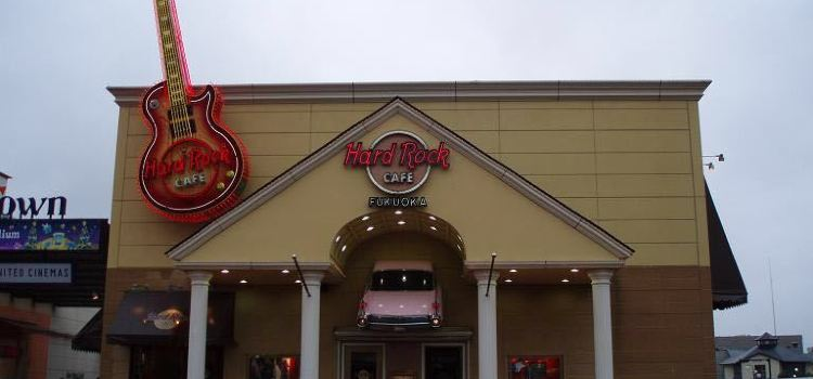 Hard Rock Cafe Fukuoka2