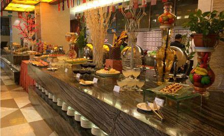 千島湖海外海假日酒店1樓西餐廳
