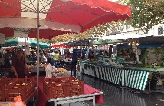 裡昂紅十字區集市(Croix-Rousse market)3