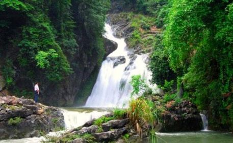 Mingcuigu Valley Rafting
