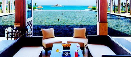 Yalong Bay Mangrove Tree Resort Lobby Lounge