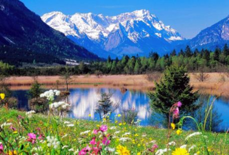 Snow Mountain Lake Scenic Area